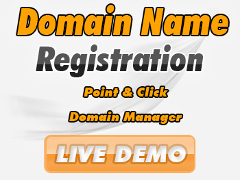 Half-priced domain name services